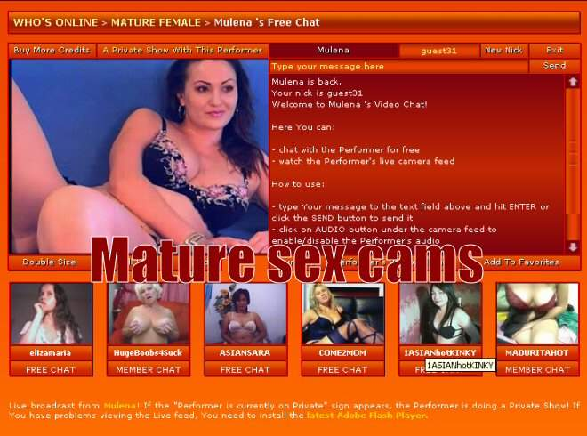 Mature Live Sex Chat